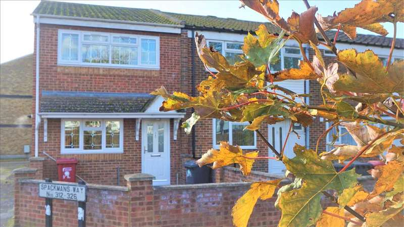 3 Bedrooms End Of Terrace House for sale in a Spackmans Way, Slough