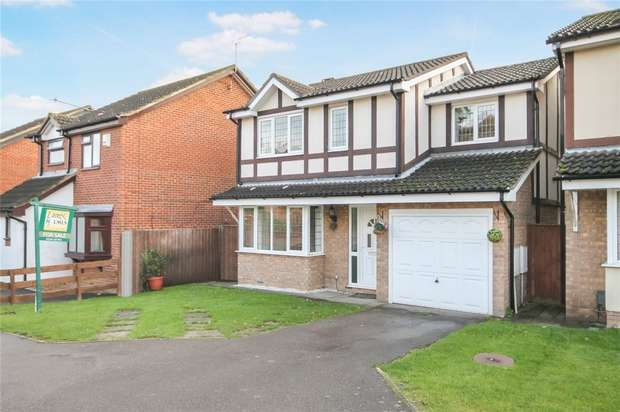 4 Bedrooms Detached House for sale in Osprey Close, Kempston, Bedford