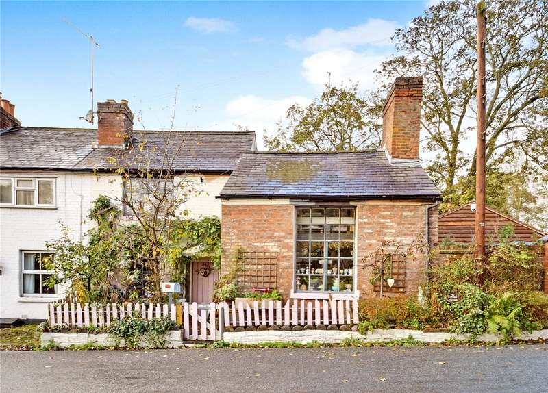 3 Bedrooms End Of Terrace House for sale in Corner Cottage, Wolverley Village, Wolverley, Kidderminster, Worcestershire, DY11