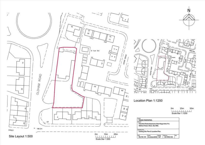 Land Commercial for sale in Former Big Lamp Site, Oldham Road, Oldham