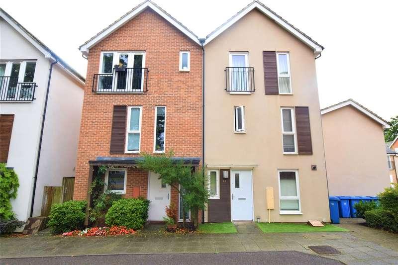 4 Bedrooms Semi Detached House for rent in Vulcan Drive, Bracknell, Berkshire, RG12