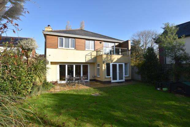 4 Bedrooms Detached House for sale in Flow Lane, Bishopsteignton, Teignmouth, Devon