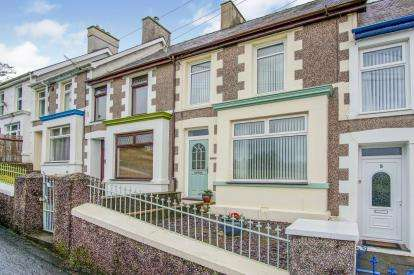 3 Bedrooms Terraced House for sale in Church Road, Talysarn, Caernarfon, Gwynedd, LL54