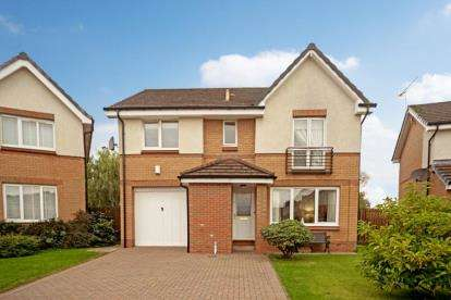 4 Bedrooms Detached House for sale in Newgrove Gardens, Cambuslang, Glasgow, South Lanarkshire