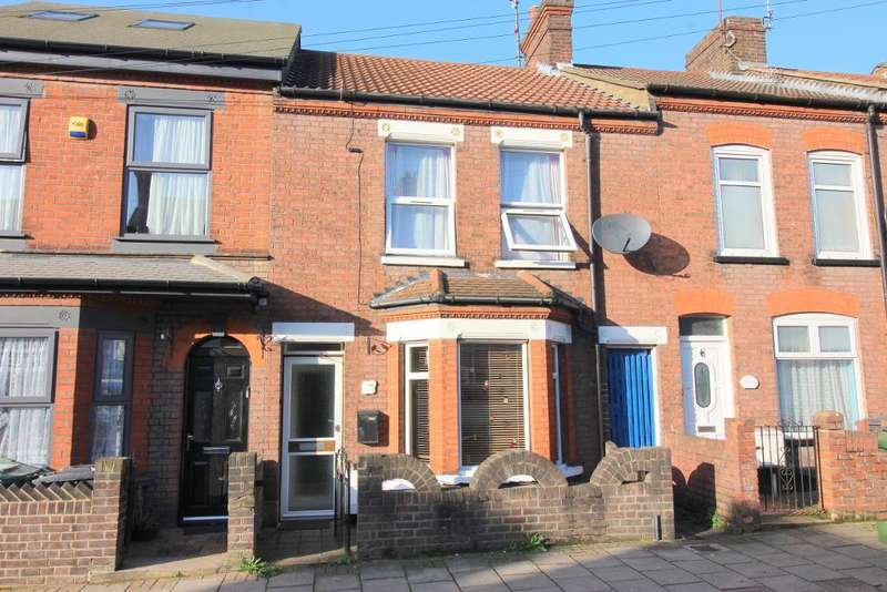 3 Bedrooms Terraced House for sale in Frederick Street, Luton, Bedfordshire, LU2 7QU
