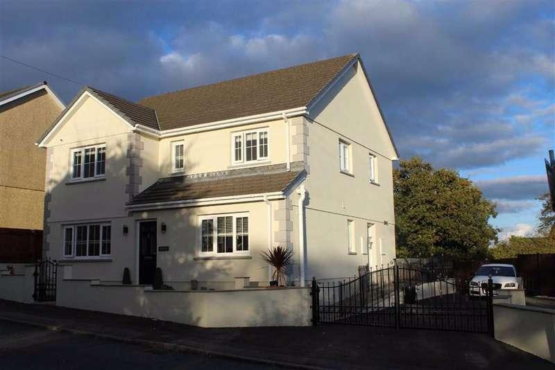 5 Bedrooms Detached House for sale in Heol Y Meinciau, Pontyates,Llanelli