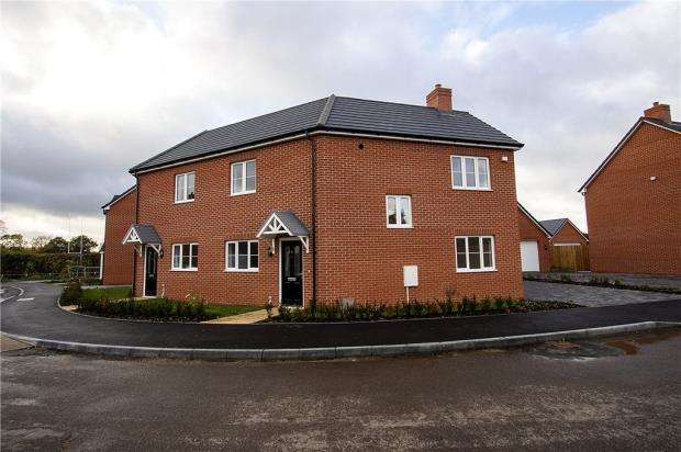 3 Bedrooms Semi Detached House for sale in The Arches, Lovell Road, Oakley