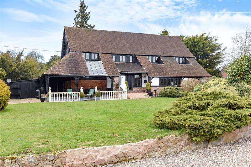 4 Bedrooms Detached House for sale in Stretton Grandison, Ledbury, Herefordshire, HR8