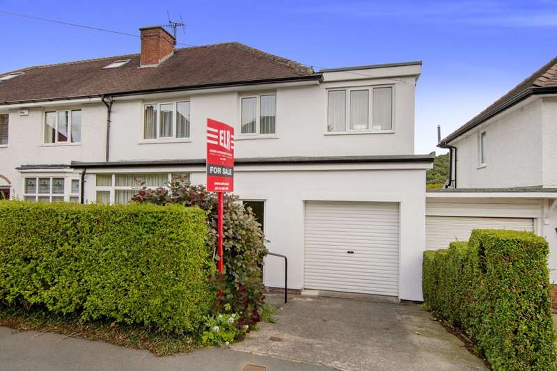 3 Bedrooms Semi Detached House for sale in 14 Abbeydale Park Crescent, Dore, S17 3PA