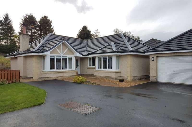 3 Bedrooms Detached Bungalow for sale in Byretown Gardens, Kirkfieldbank, Lanark, ML11