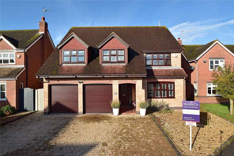 5 Bedrooms Detached House for sale in Clifford Close, Droitwich Spa, Worcestershire