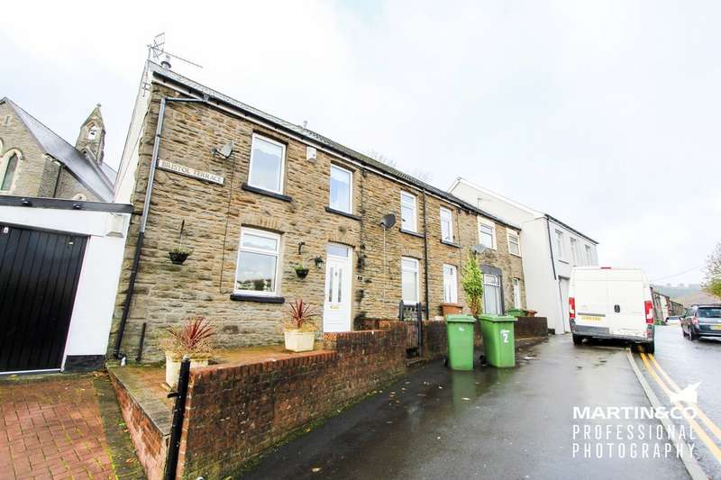 3 Bedrooms Terraced House for sale in Bristol Terrace, Bargoed CF81