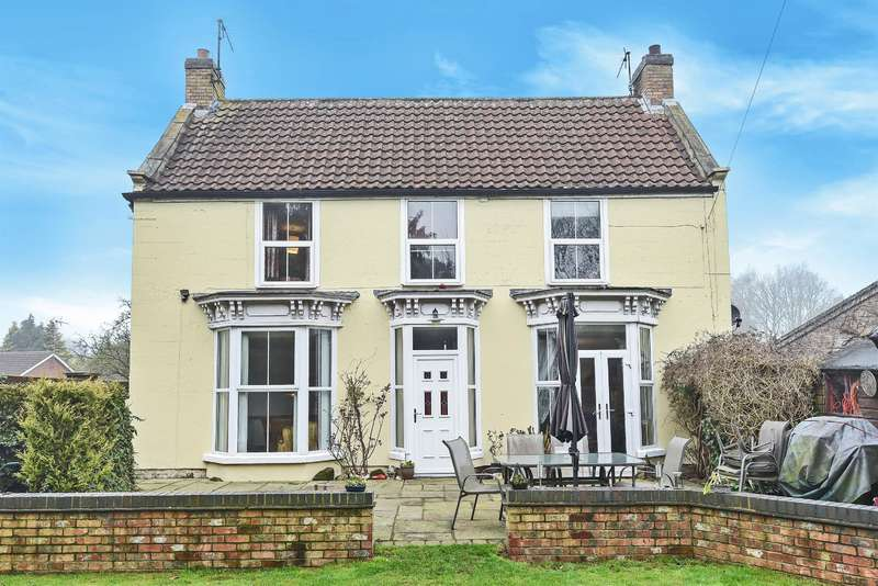 4 Bedrooms Detached House for sale in Stanhope Road, Horncastle, Lincs, LN9 5DG