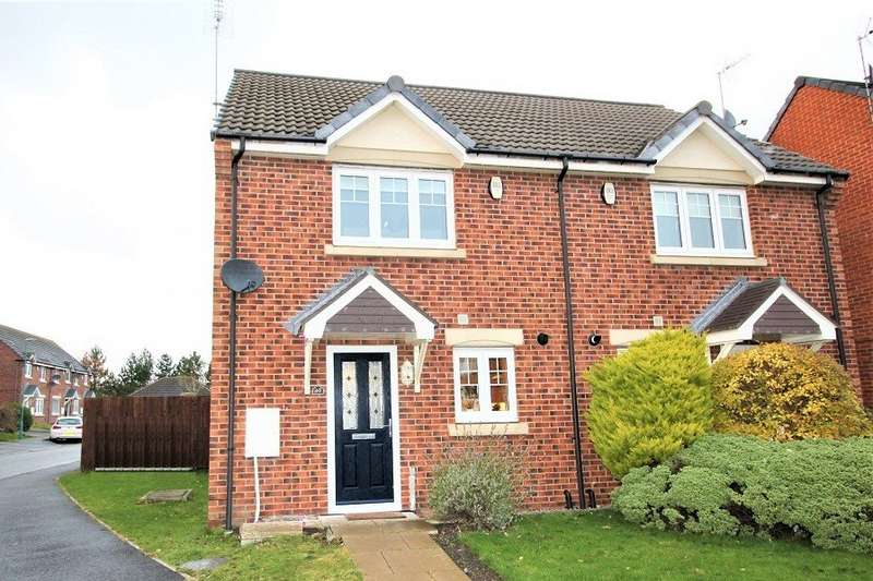 2 Bedrooms Semi Detached House for sale in Beadnall Drive, East Shore Village, Seaham, SR7