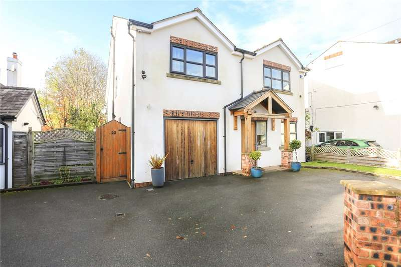 4 Bedrooms Detached House for sale in Barrack Hill, Romiley, Cheshire, SK6