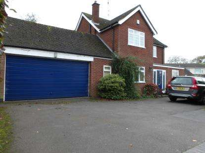 3 Bedrooms Detached House for sale in Barns Close, Kirby Muxloe, Leicester, Leicestershire