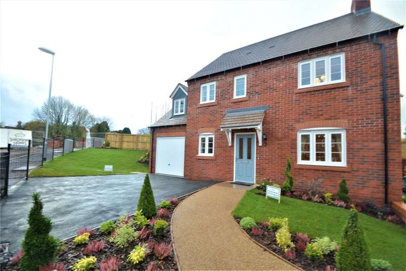 4 Bedrooms Detached House for sale in The Tettenhall, Plot 29, Parkers Place, Lincoln Hill, Ironbridge, Shropshire, TF8