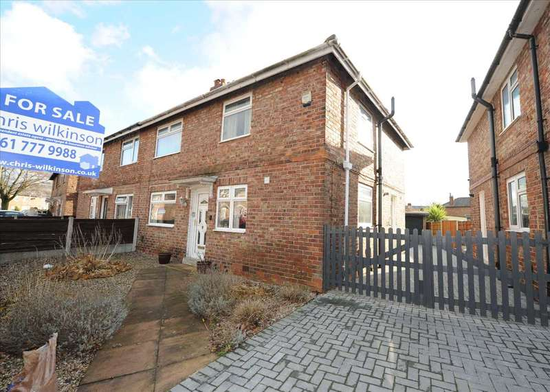 3 Bedrooms Semi Detached House for sale in 17 Allenby Road, Cadishead M44 5EA
