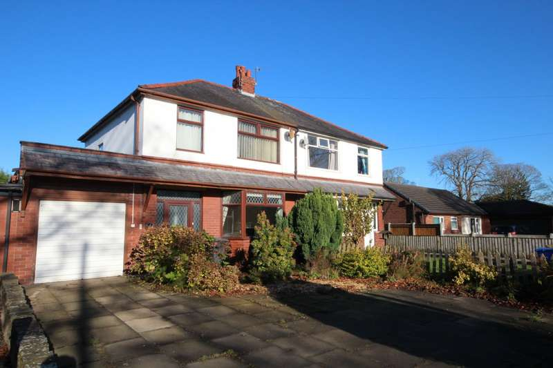 3 Bedrooms Semi Detached House for sale in The Avenue, Churchtown, Preston, Lancashire, PR3