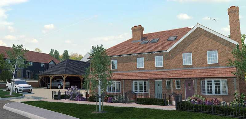 4 Bedrooms Terraced House for sale in Plot 2 Thornhill Gardens, Bapchild