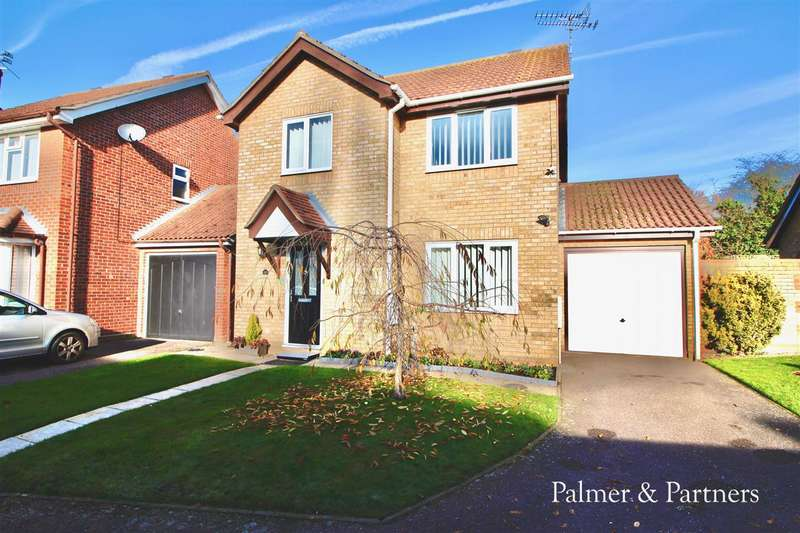 3 Bedrooms Detached House for sale in Quilter Drive, Ipswich