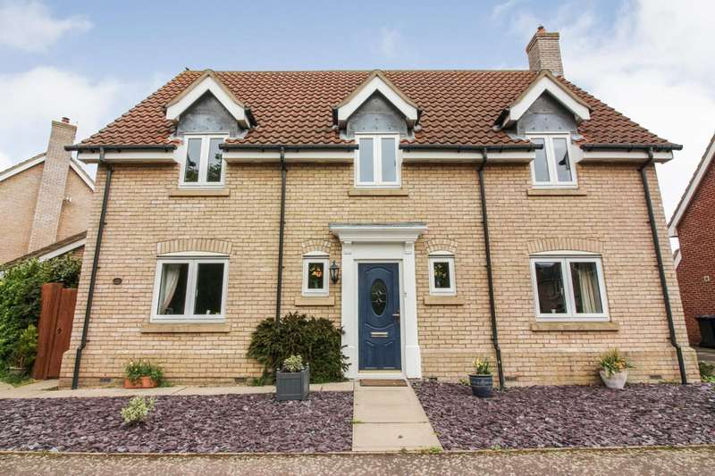 4 Bedrooms Detached House for sale in Clare Drive, Highfields Caldecote, Cambridge, CB23