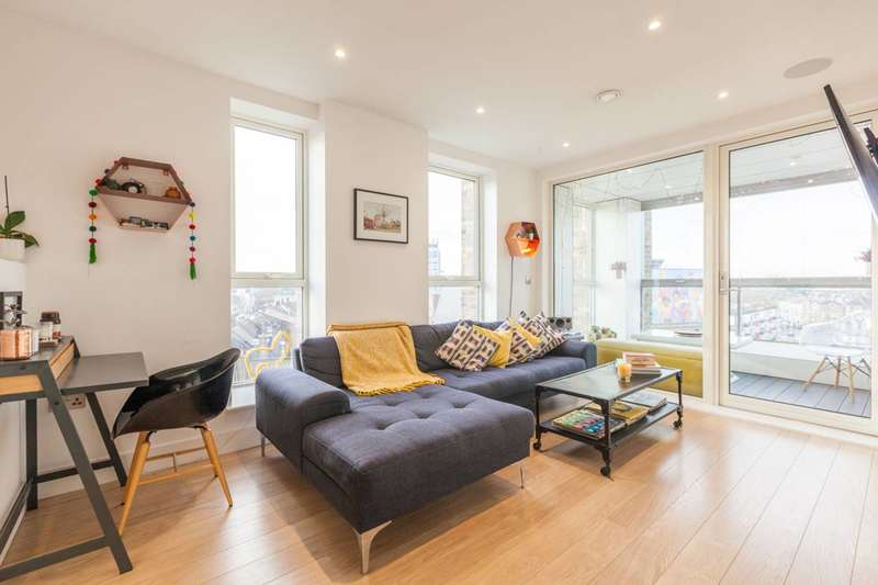 2 Bedrooms Flat for sale in Stockwell Park Walk, Brixton, SW9