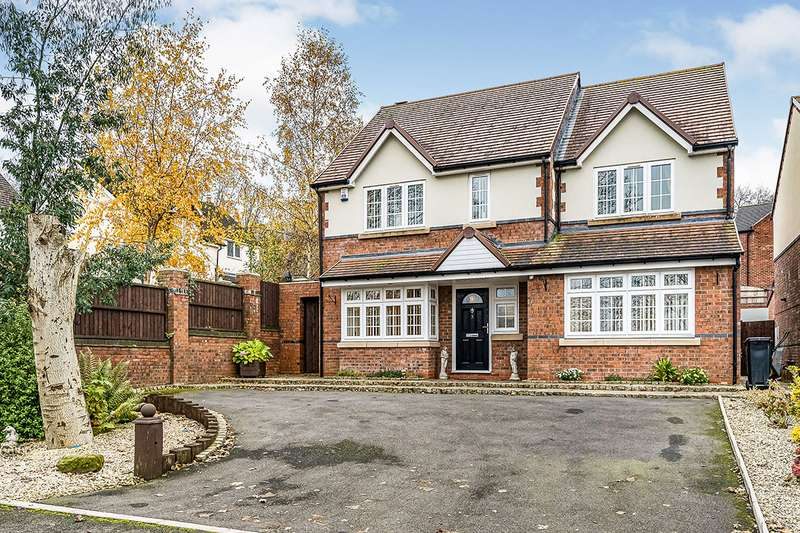 3 Bedrooms Detached House for sale in Mons Hill, Dudley, West Midlands, DY1
