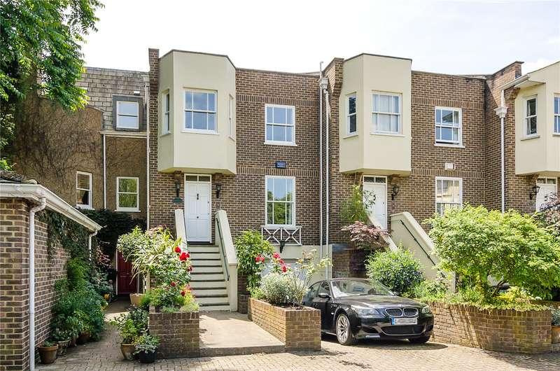 4 Bedrooms Terraced House for sale in Hampton Court Road, Hampton Court, KT8
