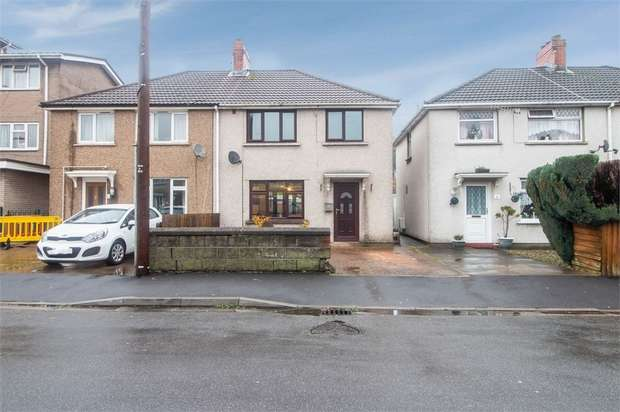 3 Bedrooms Semi Detached House for sale in Ty Isaf Park Avenue, Risca, Newport, Caerphilly