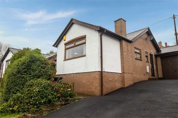 2 Bedrooms Detached Bungalow for sale in Cae Bryn, Garth, Llangollen, Wrexham