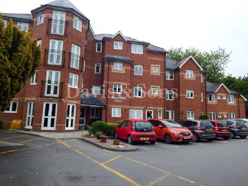 2 Bedrooms Ground Flat for sale in Monmouth Court, Bassaleg Road, Newport. NP20 3EX