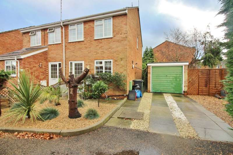 2 Bedrooms Semi Detached House for sale in Wincote Close, Kenilworth, CV8