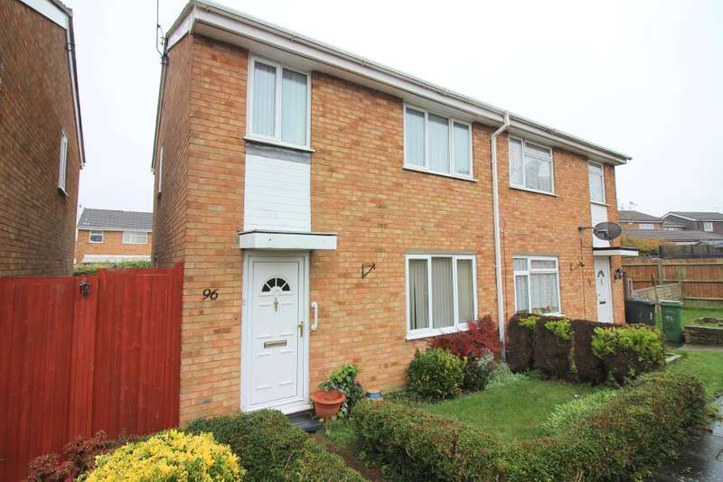 3 Bedrooms Semi Detached House for sale in Bembridge Gardens, Luton, Bedfordshire, LU3 3SJ