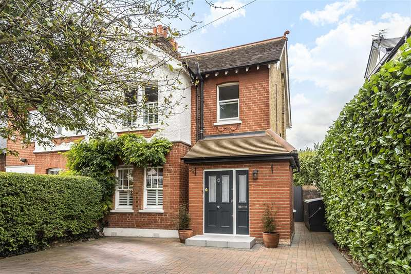 4 Bedrooms Semi Detached House for sale in Tudor Road, Hampton