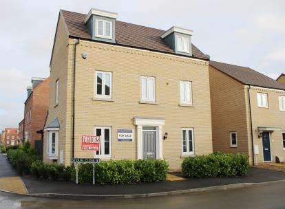 3 Bedrooms Detached House for sale in Stour Close, Spalding, Lincolnshire