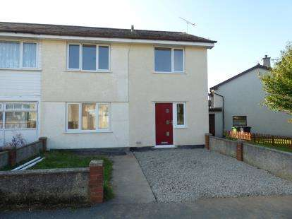 3 Bedrooms Semi Detached House for sale in Bro Tudur, Llangefni, Anglesey, LL77