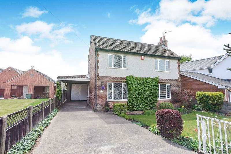 3 Bedrooms Detached House for rent in The Hill, Glapwell, Chesterfield, S44