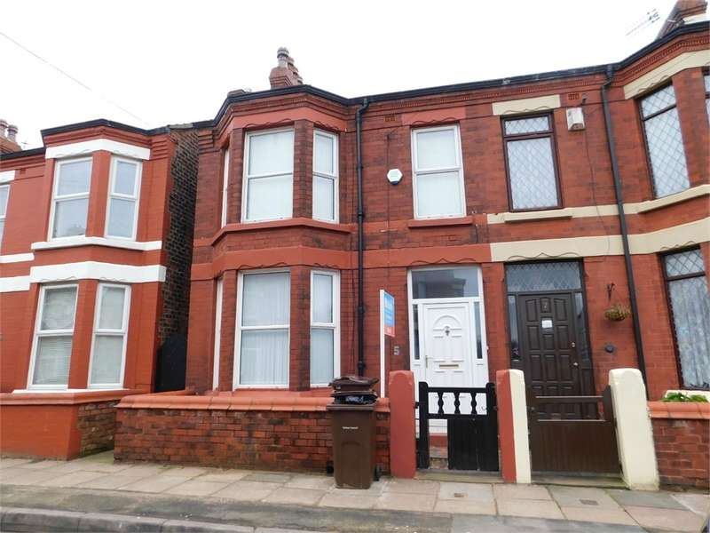 4 Bedrooms Semi Detached House for rent in Kimberley Avenue, LIVERPOOL, Merseyside