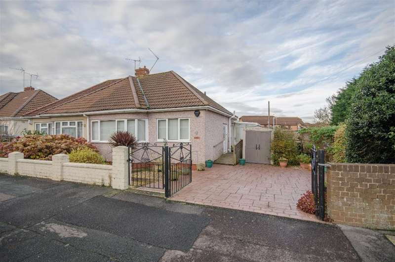 2 Bedrooms Semi Detached House for sale in Buckingham Gardens, Downend, Bristol, BS16 5TW