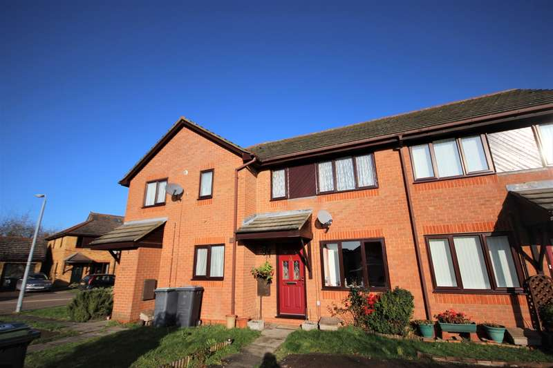 2 Bedrooms Terraced House for sale in Barkers Piece, Marston Moretaine, Bedfordshire, MK43