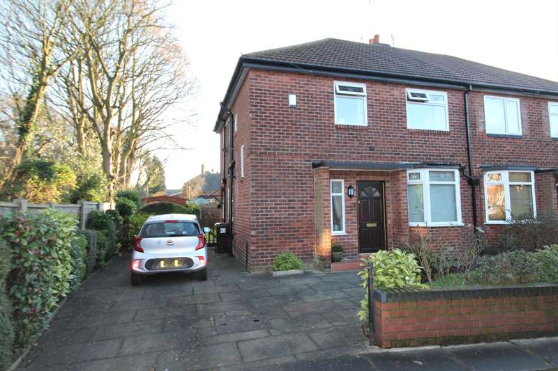 3 Bedrooms Semi Detached House for sale in Shandon Avenue, Manchester, M22 4DP