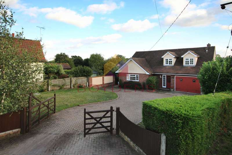 4 Bedrooms Detached House for sale in Huxtables Lane, Fordham Heath, Village West of Colchester