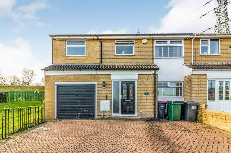 4 Bedrooms Semi Detached House for sale in Churchfields, Kimberworth, Rotherham, South Yorkshire, S61