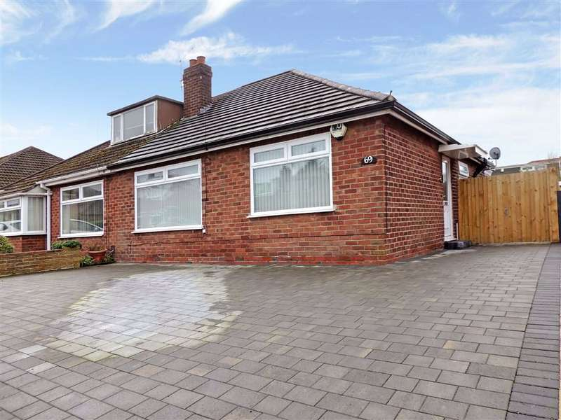 2 Bedrooms Semi Detached Bungalow for sale in Beacon Road, Romiley, Stockport