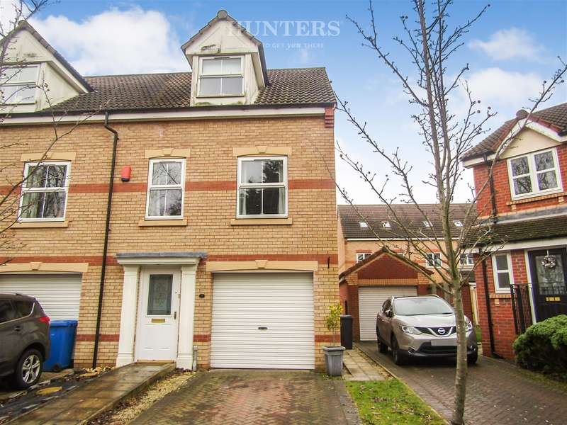 3 Bedrooms Town House for sale in Ling Drive, Gainsborough, DN21 1GT