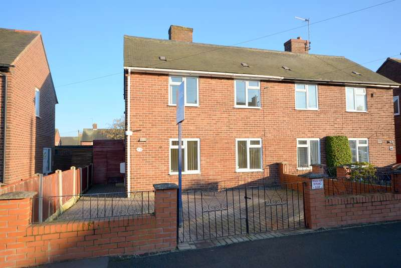 2 Bedrooms Semi Detached House for rent in North Road, Calow, Chesterfield, S44 5BG