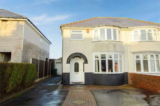 3 Bedrooms Semi Detached House for sale in Uplands Avenue, Rowley Regis, West Midlands