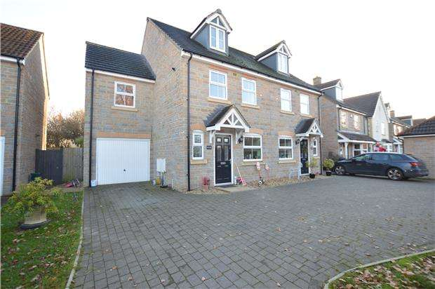 4 Bedrooms Semi Detached House for sale in Bankside Broad Lane, BS37 7BE