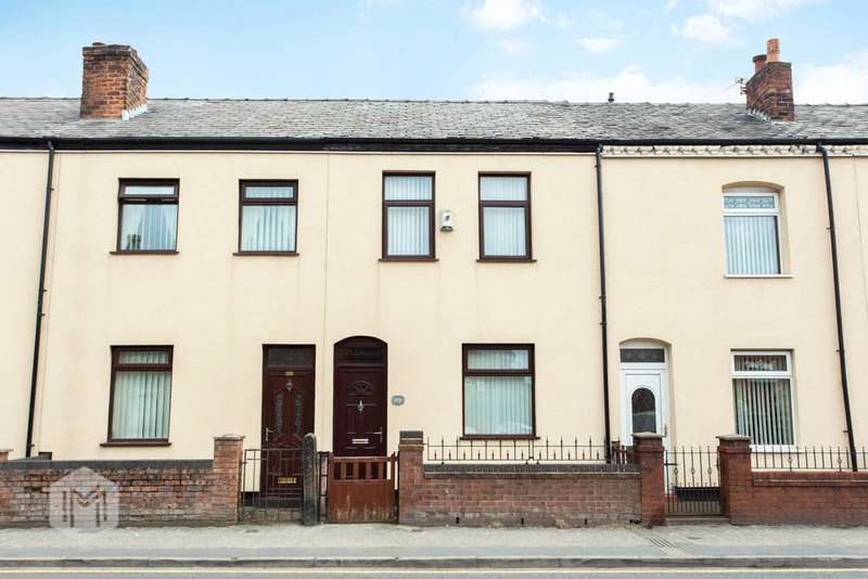 2 Bedrooms Terraced House for sale in Atherton Road, Hindley, Wigan, Greater Manchester, WN2